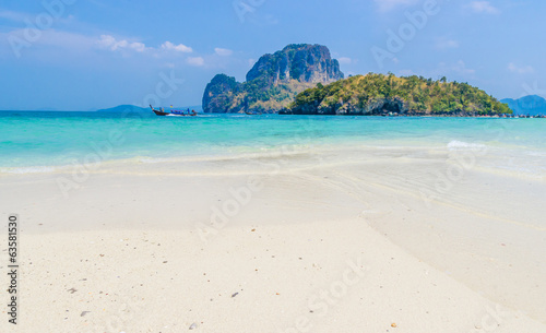 Beach in Krabi Thailand.