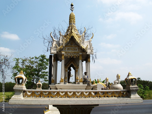 Spirit house or San phra phum at Thailand