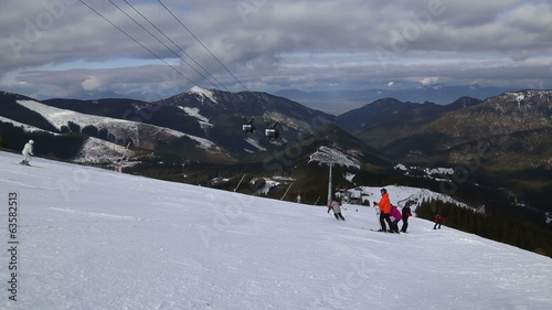 snow mountain Slovakia ski winter Jasna Europa