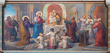 Vienna - Presentation Jesus in the Temple in Carmelites church