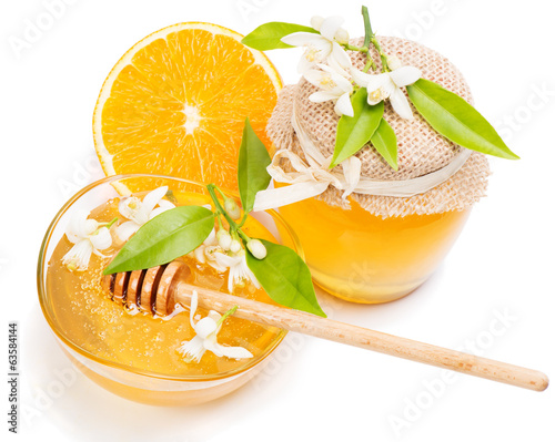 Honey and orange