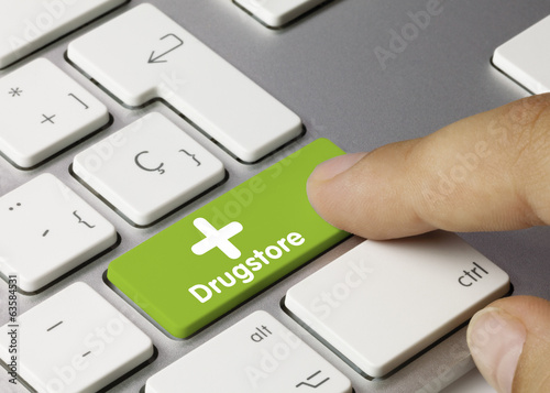 Drugstore. Keyboard