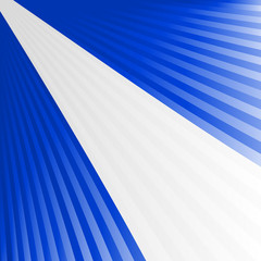 Abstract waving blue white blue yellow flag
