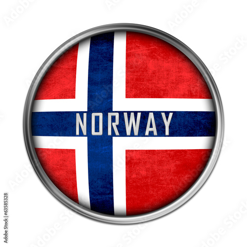 Norwegian flag button