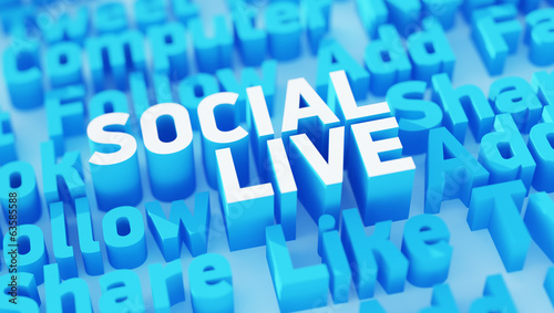 Social live keywords