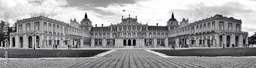 spanish royal palace in Aranjuez (Madrid)