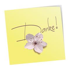 Danke - Post it
