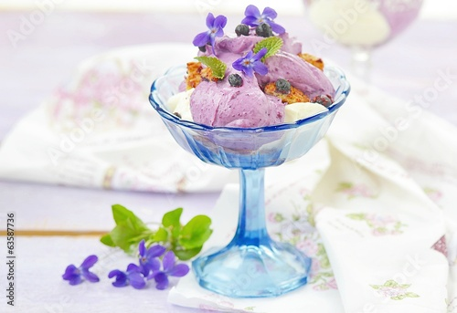blueberry and cottage cheese dessert