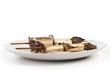 spiedino appetitoso di anguilla marinata