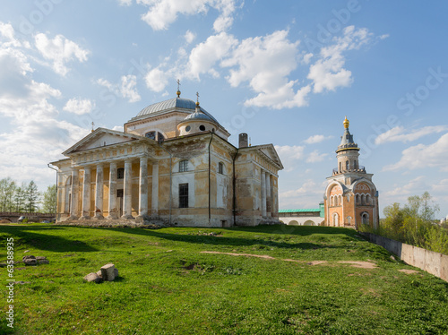 Boris and Gleb's cathedral in Torzhok the Tver region