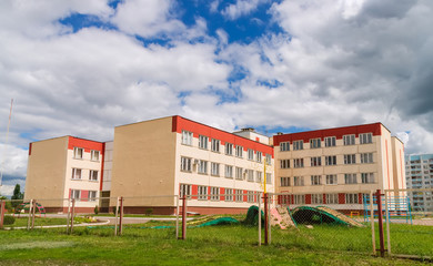 Building of modern Russian school