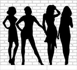 Hooker Silhouettes
