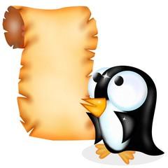 pergamena pinguino