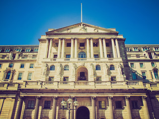 Retro look Bank of England