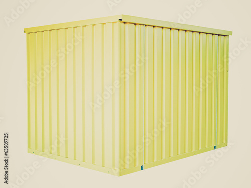 Retro look Container