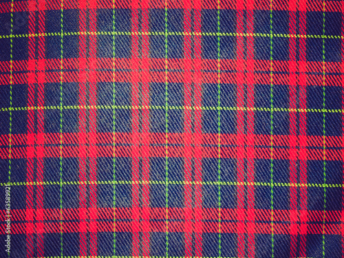 Retro look Tartan background