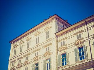 Retro look Palazzo Reale Turin
