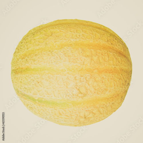 Retro look Melon picture
