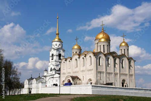 Assumption cathedral at Vladimir city, Russia