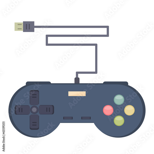 Illustration of Console Joystick