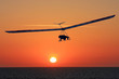 Hang Glider at sunset - 63591748