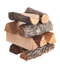 Firewood. Photo series in different versions