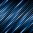 Diagonal lines abstract background - glowing blue stripes.