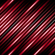 Diagonal lines abstract background - glowing red stripes.