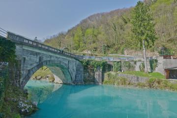 Bridge on Most na Soci, HDR