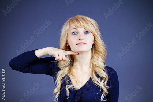 Woman asking to cut it out, stop immediately