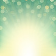 Sunburst Background With Bokeh