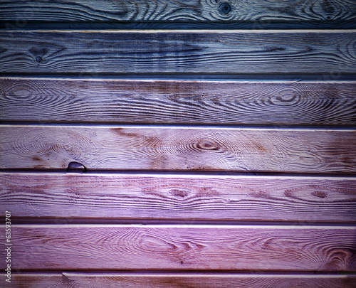 Coloured Wooden Wall