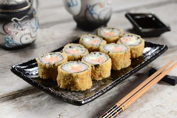 Hot sushi