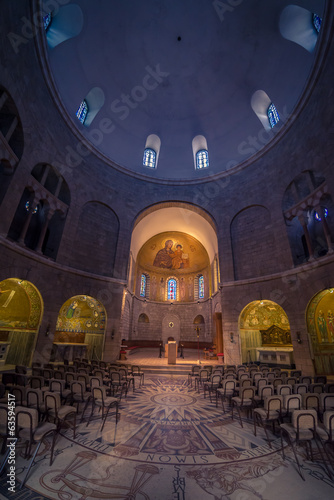 Dormition of the Mother of God - interior