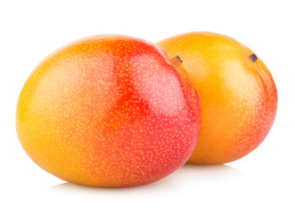 mango fruits isolated on white background