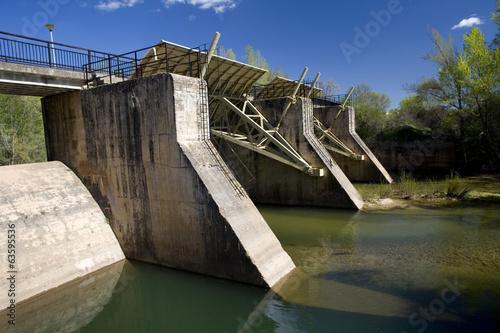 Keuken foto achterwand Dam Small Weir