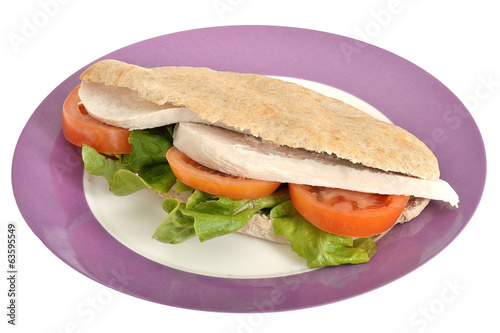 Chicken Salad Pitta Bread