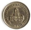 Peso argentino Argentinischer argentin 25 centavos