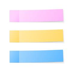 Color sticky notes