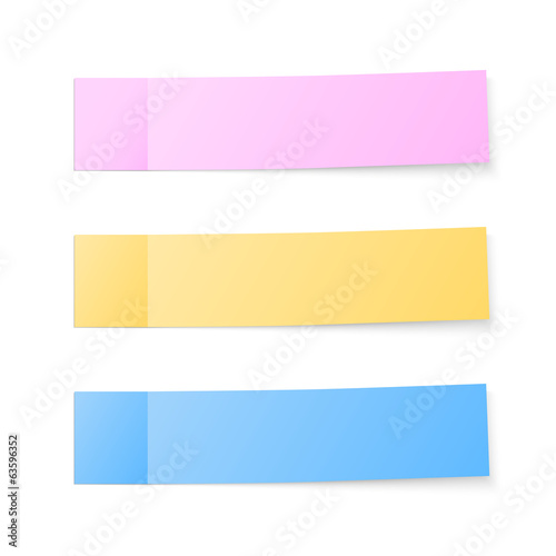 Color sticky notes