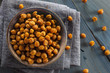 Healthy Roasted Seasoned Chick Peas