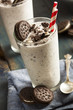 Leinwandbild Motiv Cookies and Cream Milkshake