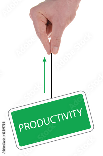 "Signboard ""productivity"""
