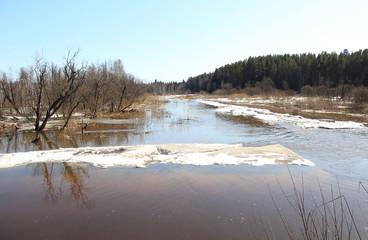 Пейзаж реки Барга. Зеленогорск Красноярский край
