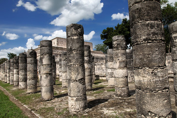 Thousand Columns, Chichen Itza