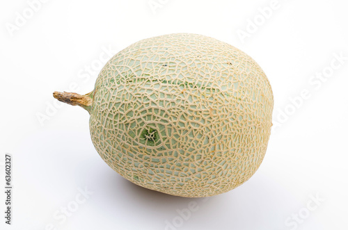 Melon isolated white background