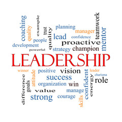 Leadership Word Cloud Concept