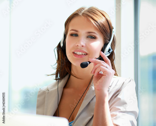 businesswoman talking on the phone