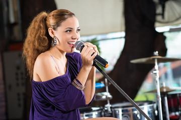 Latin female singer