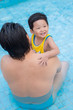 Visiting swimming pool